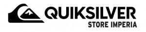 Quiksilver logo bianco