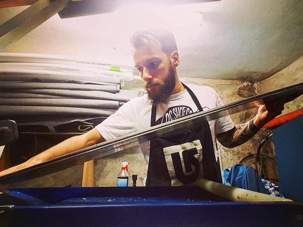 Manutenzione Snowboard – Fondo Lamine Sciolina